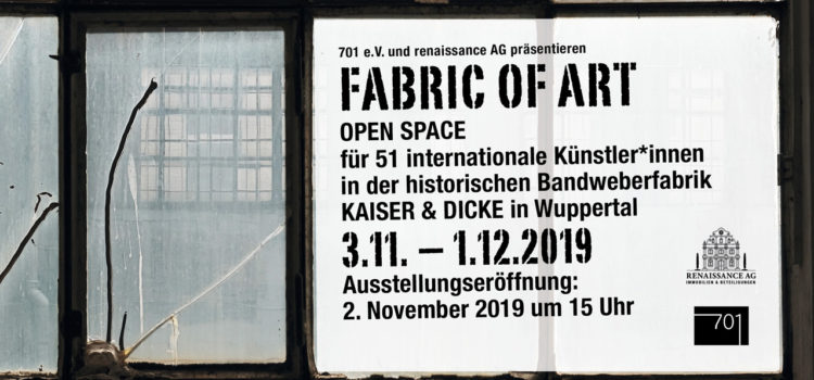 Fabric of Art – Open Space für 51 internationale Künstler*innen